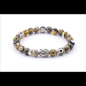 Other - Yellow Swirl Bracelet